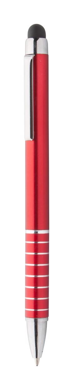 Dotykové Kuličkové Pero Linox - Červená