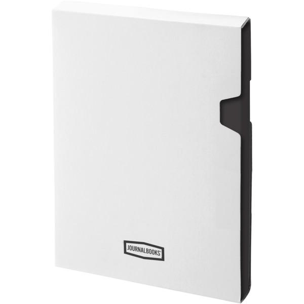 Poznámkový blok s pevnou obálkou A4 Executive - Černá