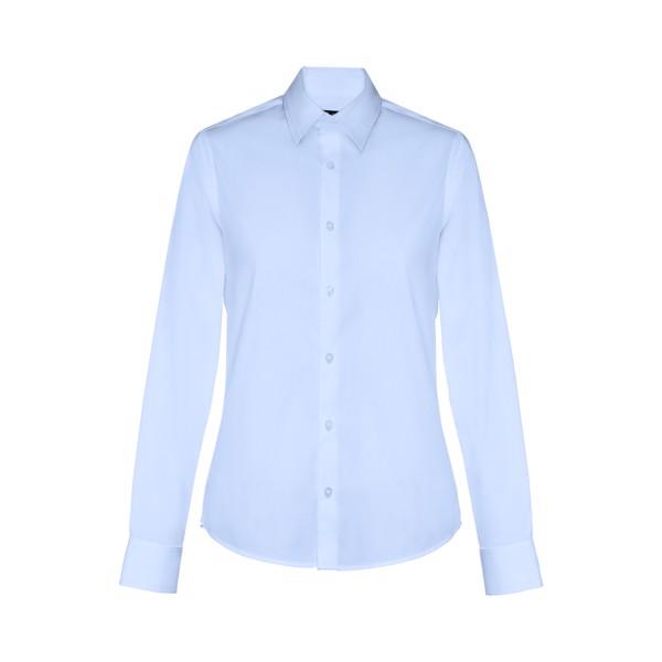 THC PARIS WOMEN. Dámská popelínová košile - Světle Modrá / XXL