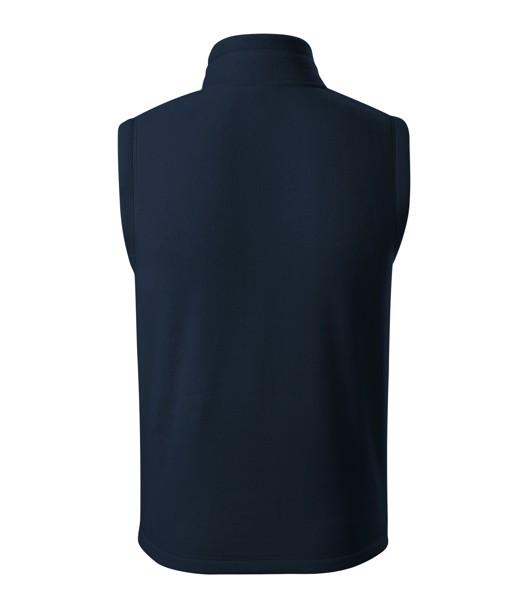 Fleece vesta unisex Malfini Exit - Námořní Modrá / M