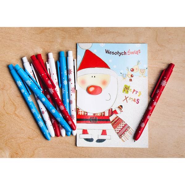 Długopis Snowy - Biały