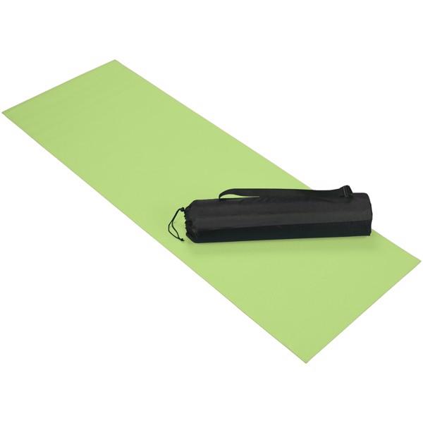 Cobra fitness and yoga mat - Lime