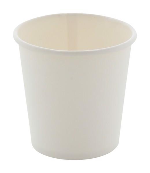 Papírový Kelímek Papcap S, 120 Ml - Bílá