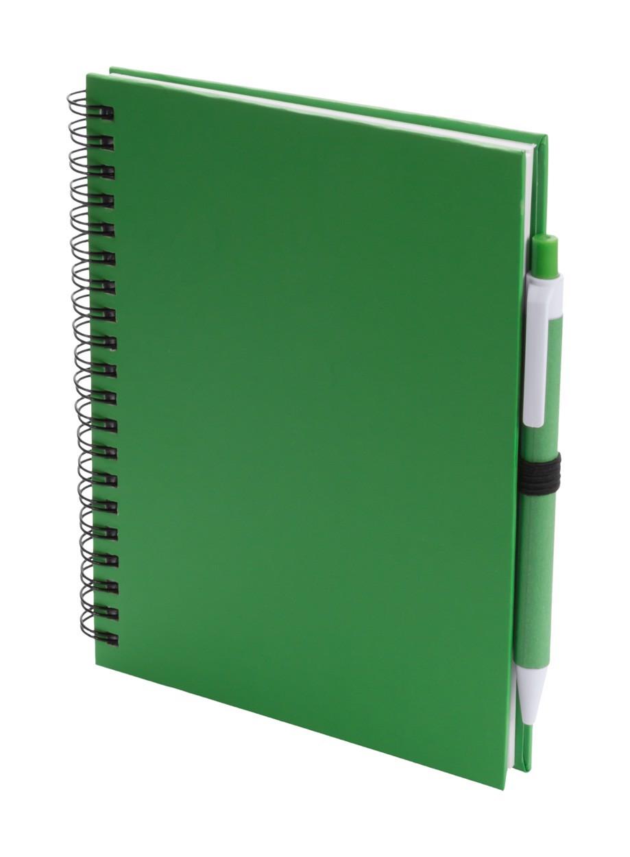 Poznámkový Blok Koguel - Zelená