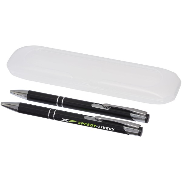 Belfast writing set - Solid black