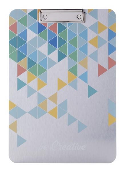 Podložka A4 Na Psaní S Klipem Na Zakázku Aloopy - Stříbrná
