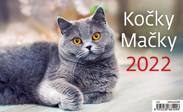 Týdenní kalendář Kočky 2022