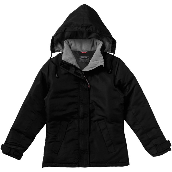 Under Spin ladies insulated jacket - Solid Black / XXL
