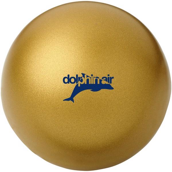 Antistresový míč Cool - Zlatá
