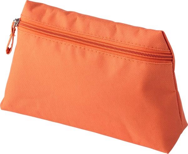 Polyester (600D) toilet bag - Orange