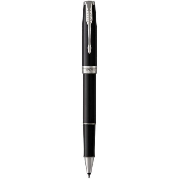 Kuličkové roller pero Sonnet - Černá / Chrome