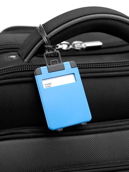 ABS luggage tag - Cobalt Blue