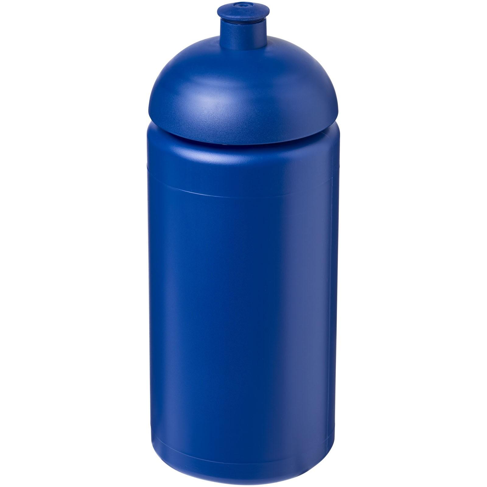Sportovní láhev s kupolovitým víčkem Baseline® Plus grip 500 ml - Modrá