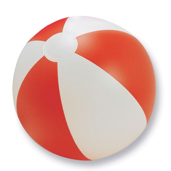 Inflatable beach ball Playtime - Red