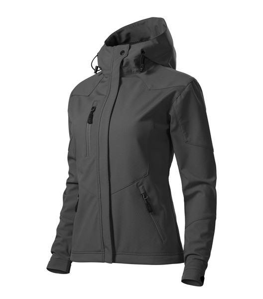 Softshellová bunda dámská Malfini Nano - Černá / 2XL