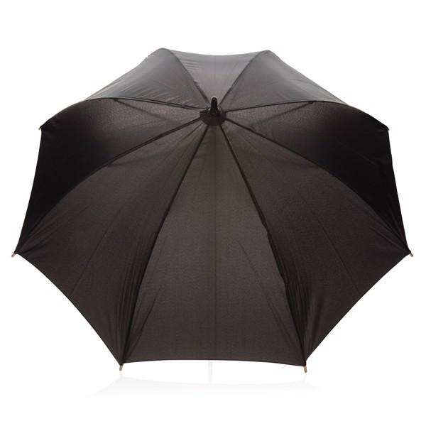 """23"""" automatický odolný deštník z RPET - Černá"""