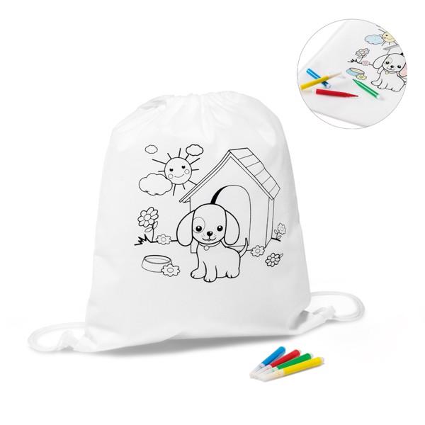 DRAWS. Παιδική τσάντα - χρωματισμού