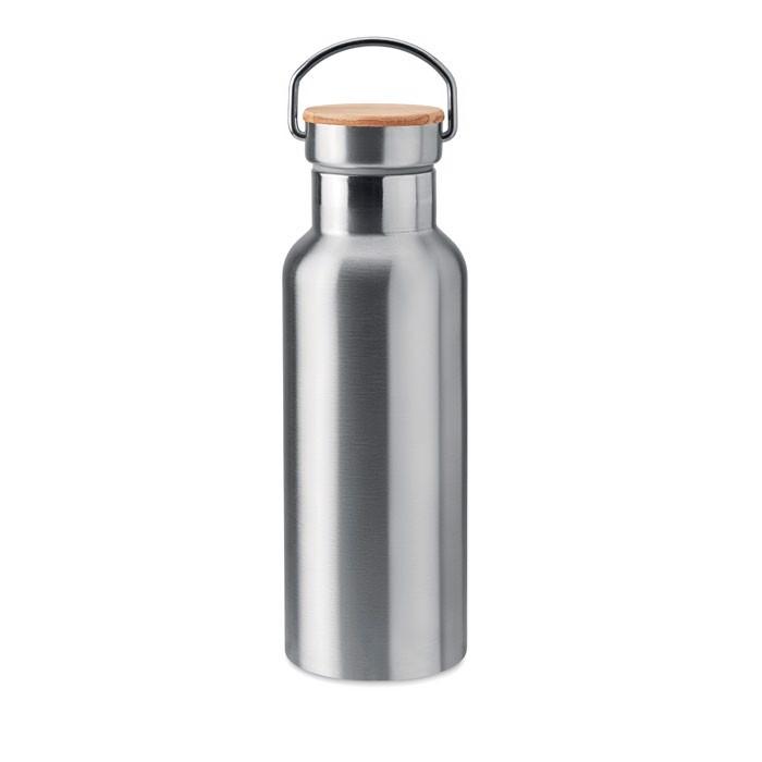 Double wall flask 500 ml Helsinki - Matt Silver