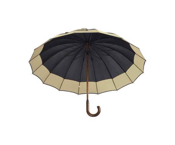 Deštník Monaco - Černá