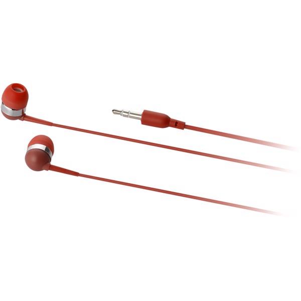Sluchátka Sargas - Červená s efektem námrazy