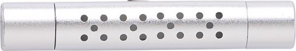 Aluminium alloy car air freshner - Silver