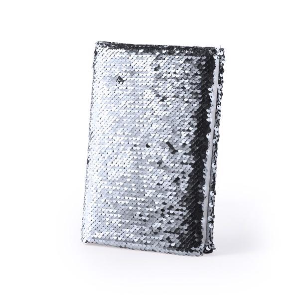 Notepad Velmont - Silver