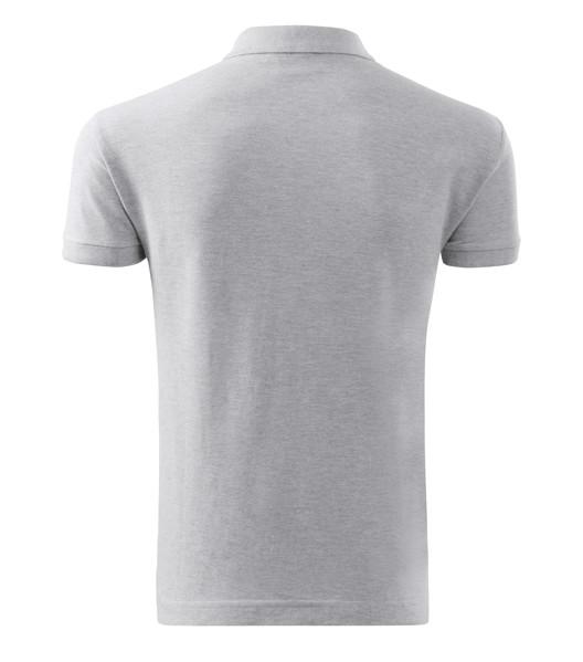 Polo Shirt Gents Malfini Cotton - Ash Melange / M