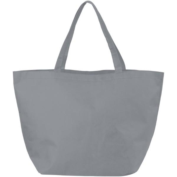 Netkaná nákupní taška Maryville - Šedá