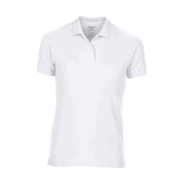 Ladies Polo Shirt 207/220 g/ Dryblend Ladies Pique 75800L - White / L