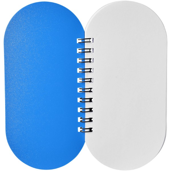 Poznámkový blok Capsule - Modrá / Černá