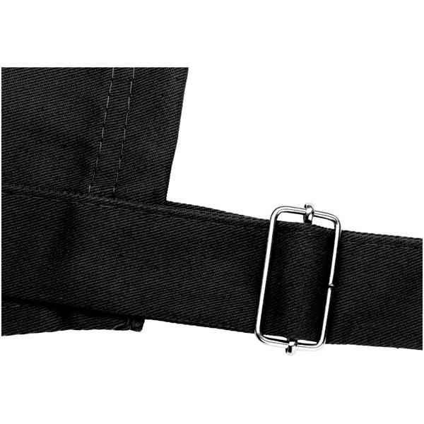 Zástěra Zora s nastavitelným krčním popruhem - Černá