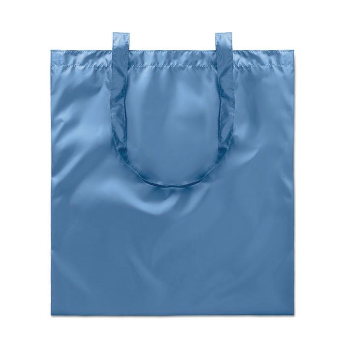 Metallic Einkaufstasche Tote New York - blau