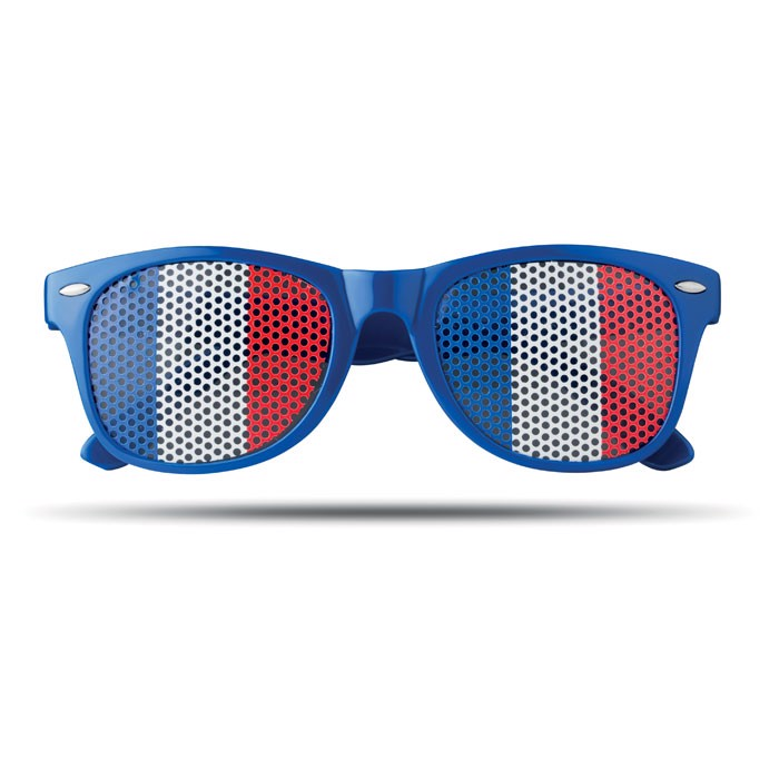 Okulary przeciwsłoneczne Flag Fun - niebieski