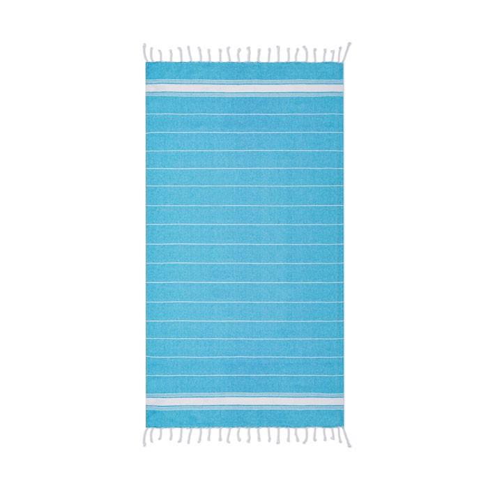 Beach towel cotton  180 gr/m² Malibu - Turquoise