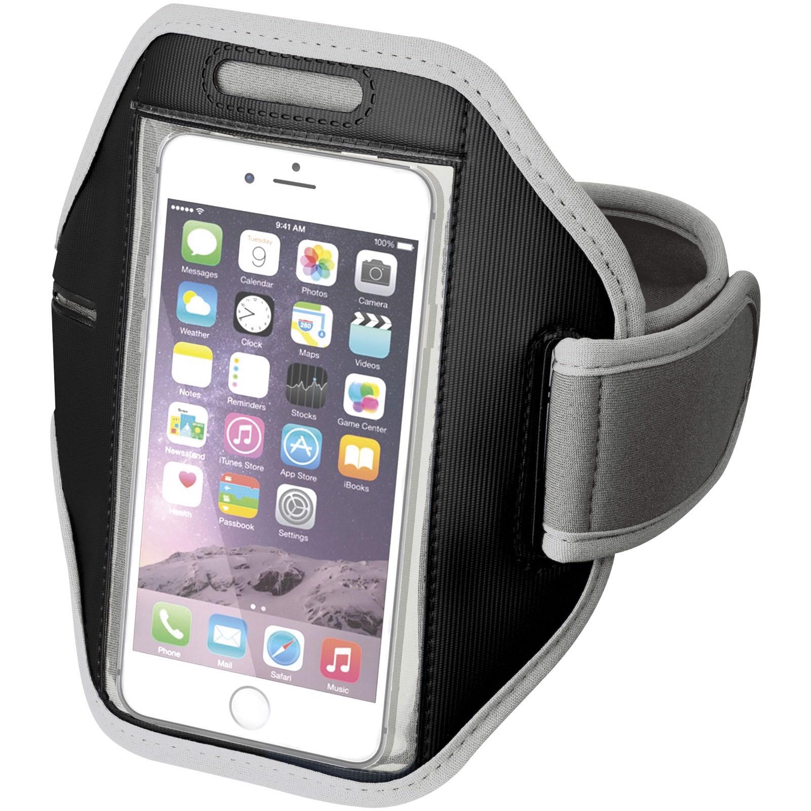 Pažní páska Gofax s dotekovou folií pro chytrý telefon - Větle šedá