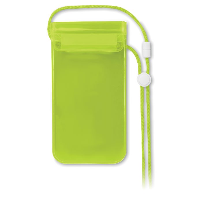 Pouzdro pro smartphone Colourpouch - transparent green