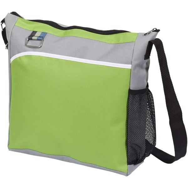 Kalmar shoulder tote bag - Lime