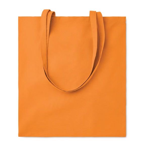 Cotton shopping bag 105 gr/m² Cottonel Colour - Orange