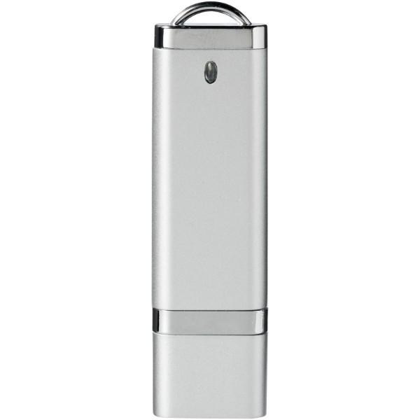 Ploché USB - Stříbrný / 8GB