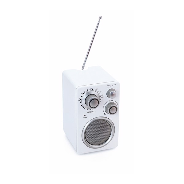 Altavoz Radio Tuny - Blanco