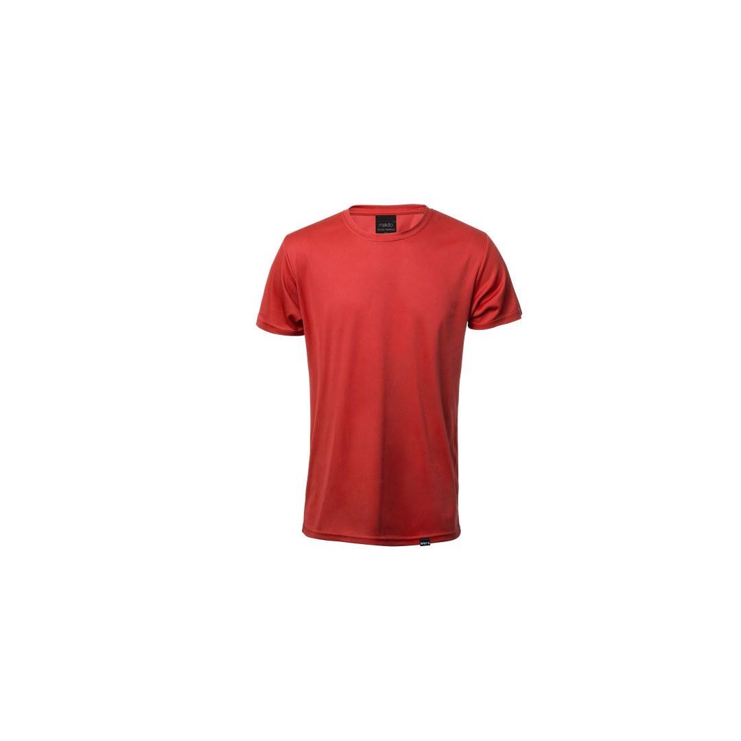 T-Shirt Adulto Tecnic Markus - Vermelho / S