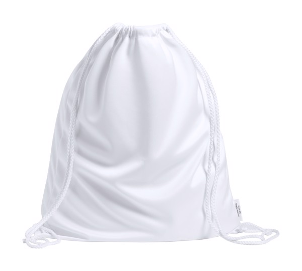 Anti-Bacterial Drawstring Bag Trecel - White