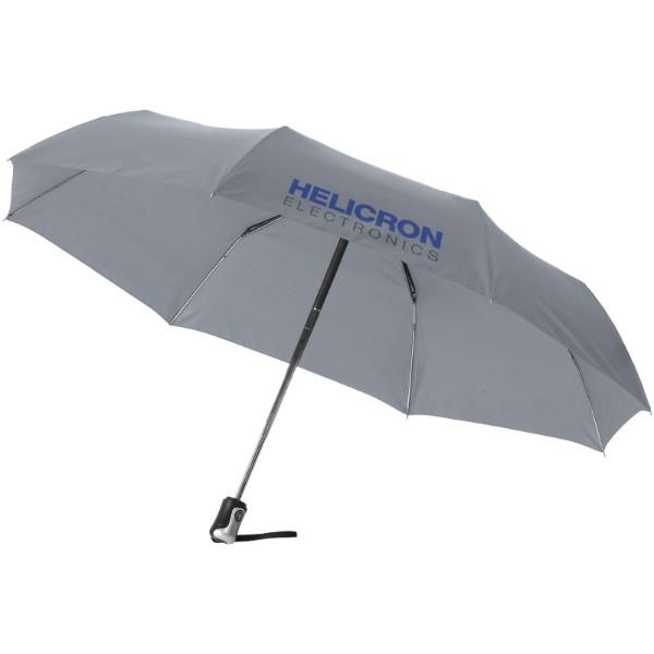 """21,5"""" deštník Alex s automatickým otvíráním/skládáním - Šedá"""