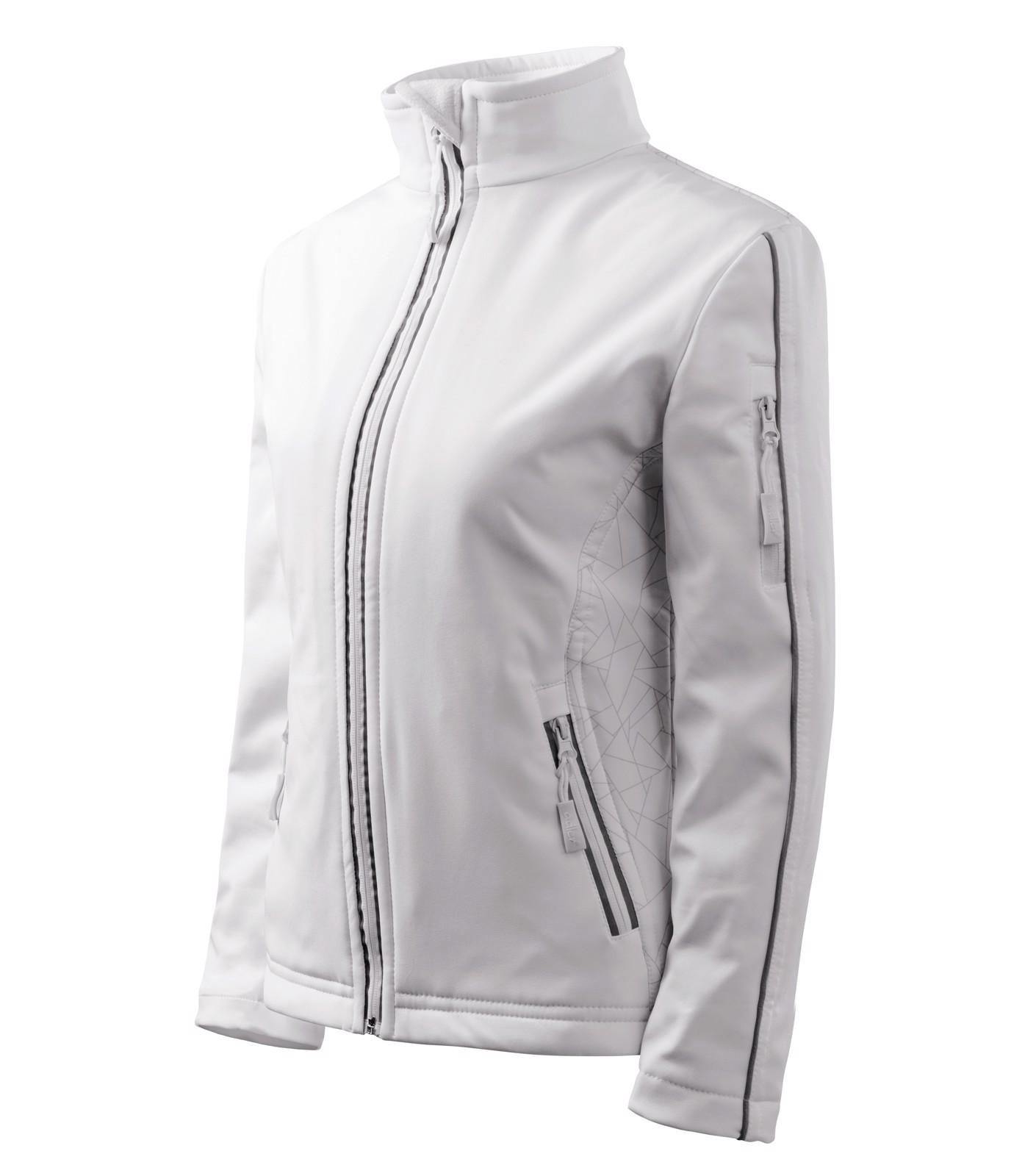 Bunda dámská Malfini Softshell Jacket - Bílá / S
