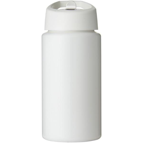 Sportovní láhev svíčkem shubičkou H2O Bop 500 ml - Bílá