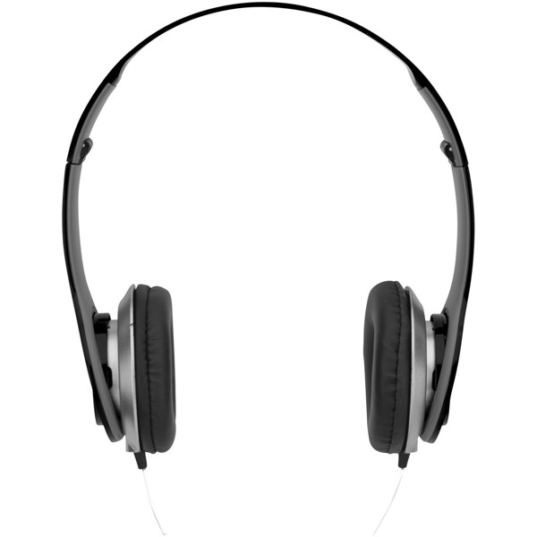 Cheaz foldable headphones - Solid black