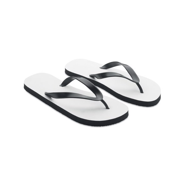 Sublimation beach slippers XL Do Mel