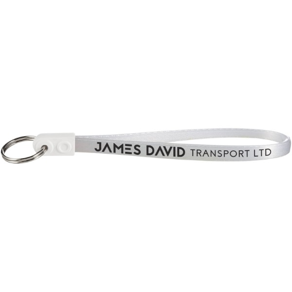 Ad-Loop ® Jumbo keychain - White