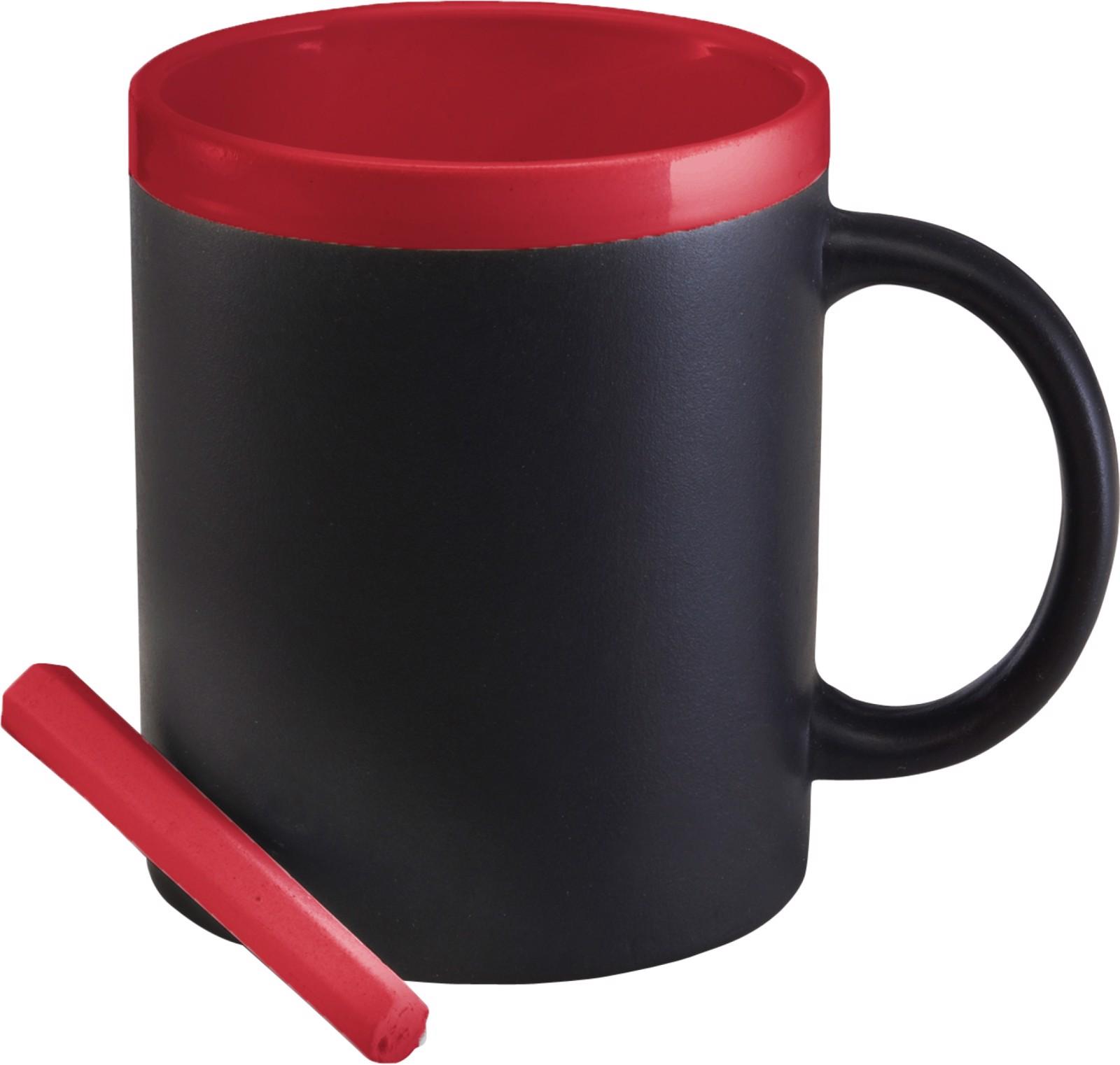Ceramic mug - Red