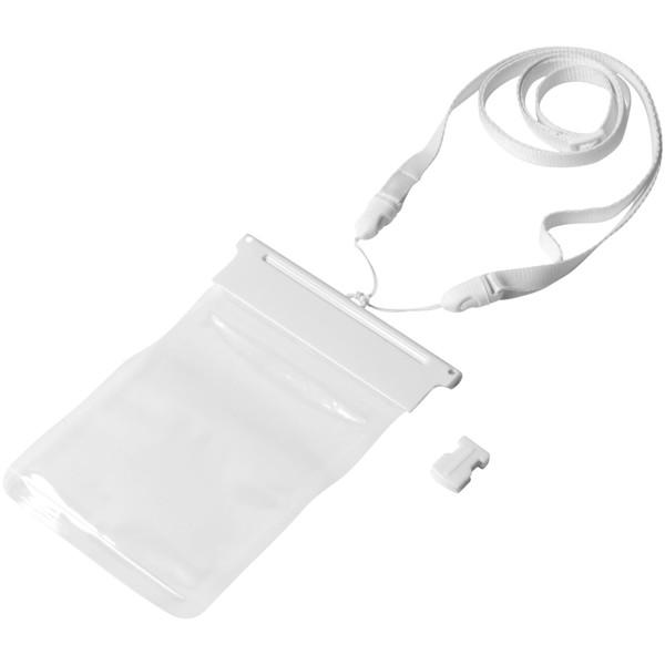 Vodotěsný obal Splash na chytrý telefon - Bílá / Průhledná bezbarvá